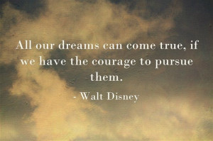 Walt Disney Quote #quotes