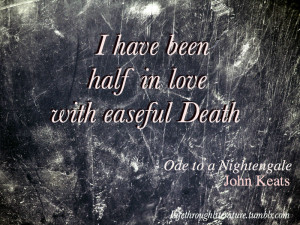 tags ode to a nightengale john keats poetry quotes literature