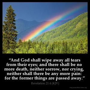 Revelation 21:4 Inspirational Image