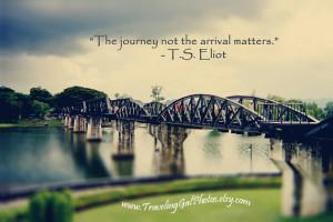 art print quotes travel photography grey green bridge landscape ...
