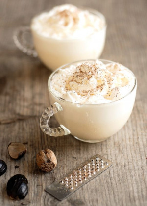 Homemade Egg Nog....Im wondering if you could use Unsweetened Almond ...