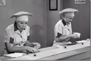 Lucy And Ethel Talk