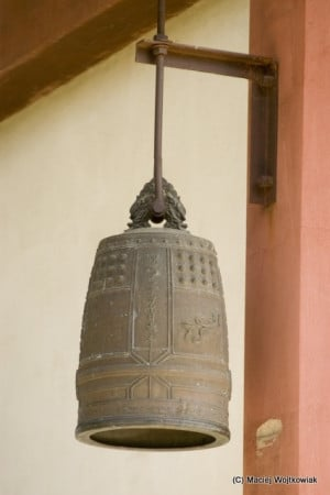 temple bell: Japanese Temple