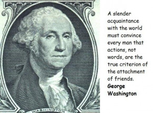 George Washington Famous Quote