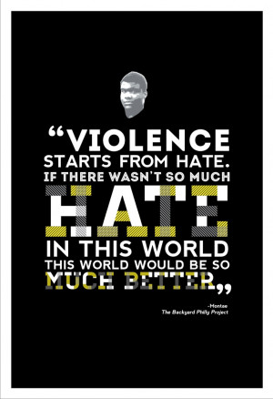 11x17 quote poster from