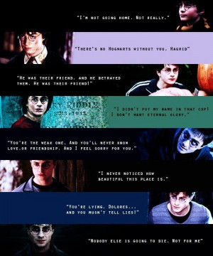 Harry Potter Harry's quotes