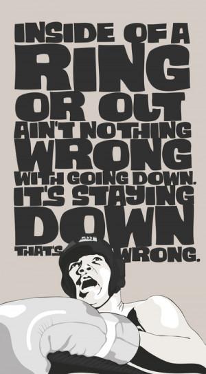 Muhammad Ali - Quote Art Print