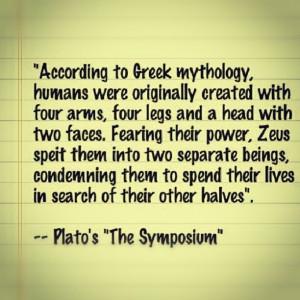 Greek Mythology -Plato