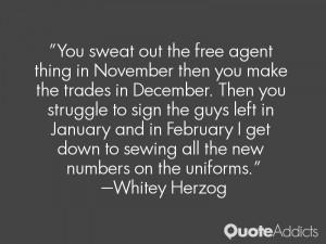 Whitey Herzog