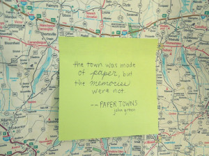 Paper Towns by permafrosts
