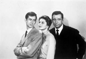 100698 Anatole Litvak Ingrid Bergman Yves Montand Anthony Perkins