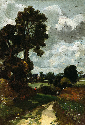 Nayland Painting Oil Sketch