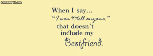 March 2, 2015 Quotes Comments Off on Best friend quote Facebook Cover ...