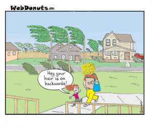Windy Cartoon