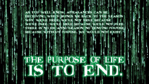 Agent Smith quote wallpaper by notbryant