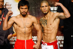 Manny Pacquiao Miguel Cotto Manny Pacquiao v Miguel Cotto Weigh In