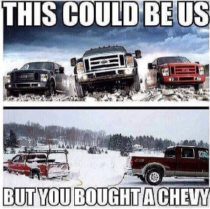 Fords the way to go