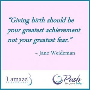 Giving Birth should be your greatest achievement not your greatest ...