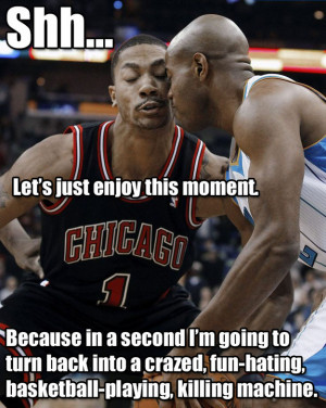 Derrick Rose hates fun. He loves being the best point guard in the NBA ...