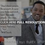 will smith celebrity actor man quotes sayings be yourself will smith ...
