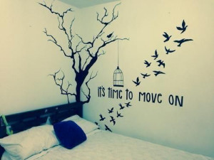 like a bird I wanna fly away
