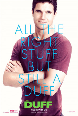 ... The Duff' Movie Posters Featuring Robbie Amell, Bella Thorne + More