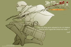 Attack On Titan: Levi by Wolfragna