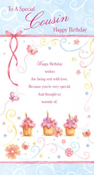 Back > Quotes For > Girl Cousin Birthday Quotes