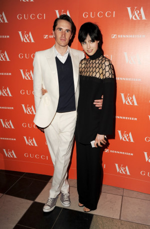 Otis Ferry and Edie Campbell in Gucci at the opening night of the ...