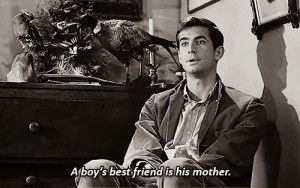... best friend is his mother.