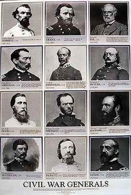 CW-1 Civil War Generals