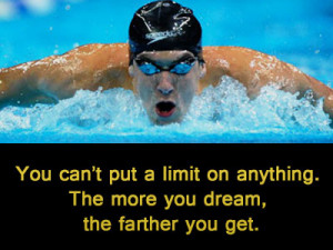 Michael Phelps Inspirational Quotes