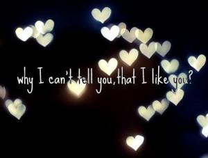 boy, crush, i like you, love quote