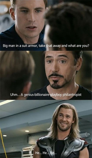 Funny photos funny Iron Man Tony Stark Avengers