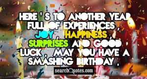 Turn Up Birthday Quotes It my birthday tomorow:) i
