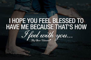 Feeling Very Blessed Quotes