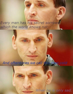Christopher Eccleston, don't make me get all emotional! :'(