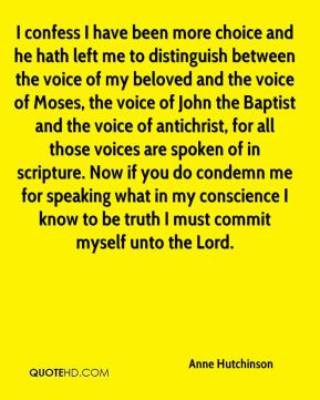 between the voice of my beloved and the voice of Moses, the voice ...