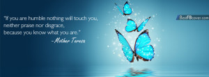 Mother Teresa Quotes Facebook Cover