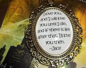 Mortal Instruments Necklace, City of Bones Necklace, Cassandra Clare ...