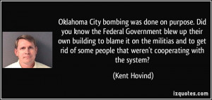 Oklahoma City bombing was done on purpose. Did you know the Federal ...