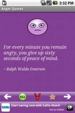 Quotes Picture: anger management fosters positive feelings about self ...