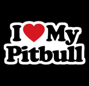 iheart portfolio i love my pitbull