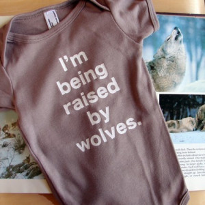 cute, quote, t-shirt, wolves