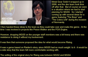 ... portable platform to be directed by series' creator Hideo Kojima