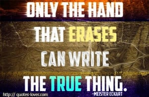 ... quotes @ http://quotes-lover.com/ #Erase, #Hand, #Inspirational, #
