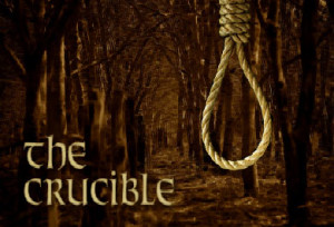 the crucible takes its name from the three meanings of crucible ...