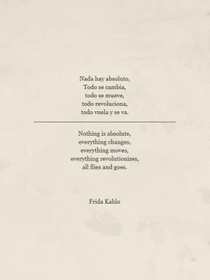 Quotes Frida Kahlo, Frida Quotes, Nada Hay, Fridakahlo, Phrases, Frida ...