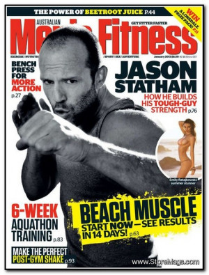 Jason Statham Featured On Men's Fitness Australia! (January 2013)