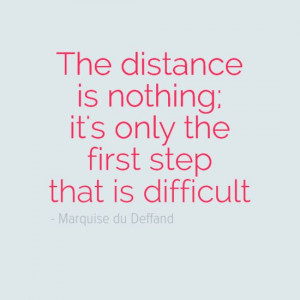 The First Step #Quote